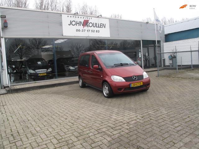 Mercedes-Benz Vaneo occasion - Autobedrijf John Koullen