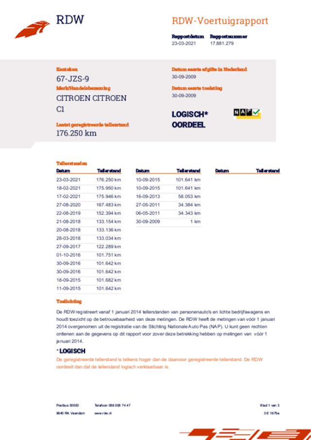 Citroen C1 1.0-12V Ambiance 5-deurs-Airco-Elec.-Pakket