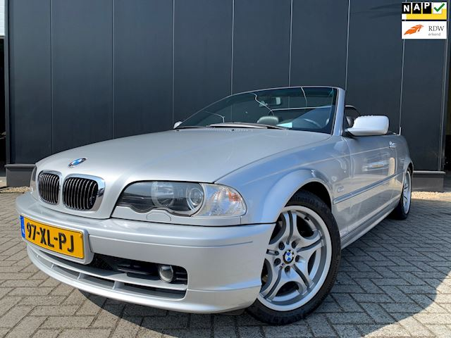 BMW 320 Cabrio '01 Leder/Navi/146dkm/Nieuwstaat!!!!!!!!