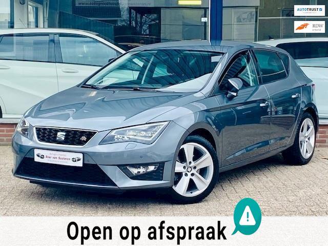 Seat Leon 1.4 EcoTSI FR! Navi/Drive profile/Cruise/LED/Xenon/Leder/PDC! 1e eigenaar/Nieuwstaat/Dealer OH!
