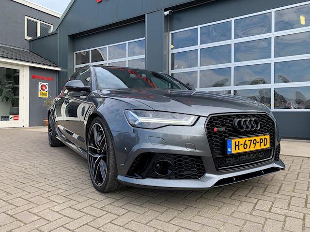 Audi RS6 Avant 4.0 TFSI quattro performance Plus 605PK /keramisch/Head-up/Pano/DAB/Fabrieks Garantie !!