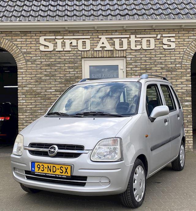 Opel Agila 1.2-16V Bj 2003 Airco Hoge zit lage wegenbelasting