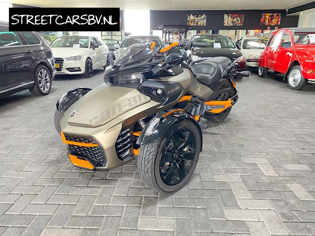 Can-Am Tour Spyder F3-S Special Series SE6 Akrapovic!
