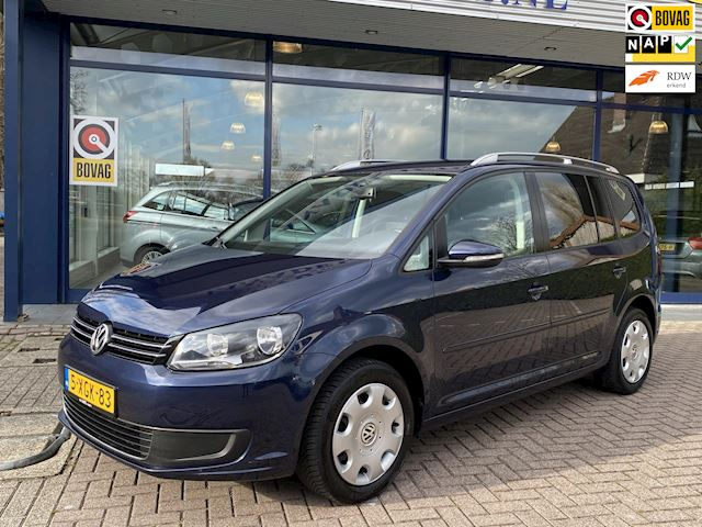 Volkswagen Touran 1.2 TSI Comfortline BlueMotion 7p. 1e Eig.! Navi Pdc Trekhaak NL-Auto NAP Dealeronderhouden!