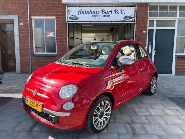 Fiat 500 C 1.2 Cabrio Lounge uitvoering! Airco, Sportvelgen en nieuwe APK!