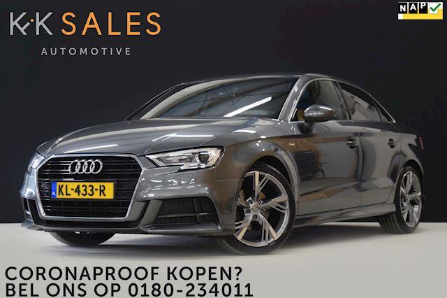 Audi A3 Limousine 1.0 TFSI Sport 2X S-line NW MODEL [S-LINE, GROOT NAVI, SPORTSTOEL, GETINT GLAS, CRUISE/CLIMATE, NIEUWSTAAT]
