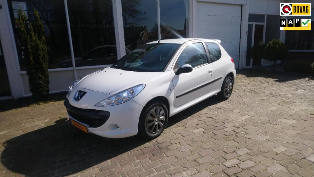 Peugeot 206  occasion - Autobedrijf Wolters