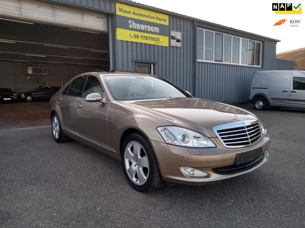 Mercedes-Benz S-klasse occasion - Visser Automotive Heerle