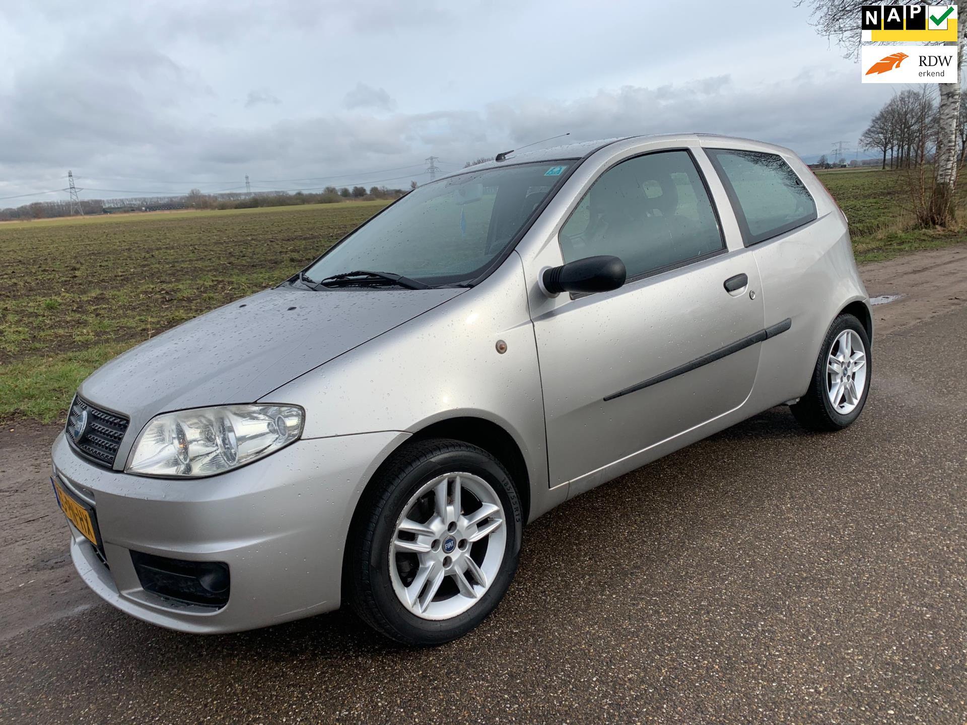 Fiat Punto occasion - Van der Made Auto's