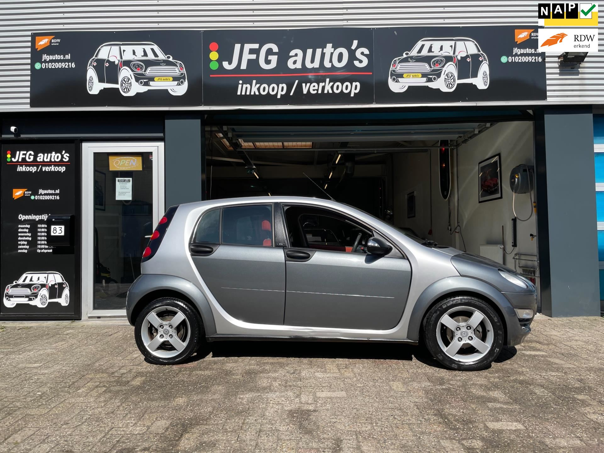 Smart Forfour occasion - JFG Auto's