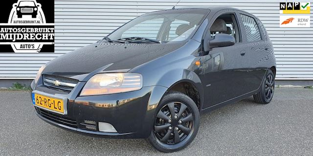 Chevrolet Kalos 1.2 Spirit / Nieuwe APK! / 5-deurs / Airco / Elektr. ramen / Trekhaak
