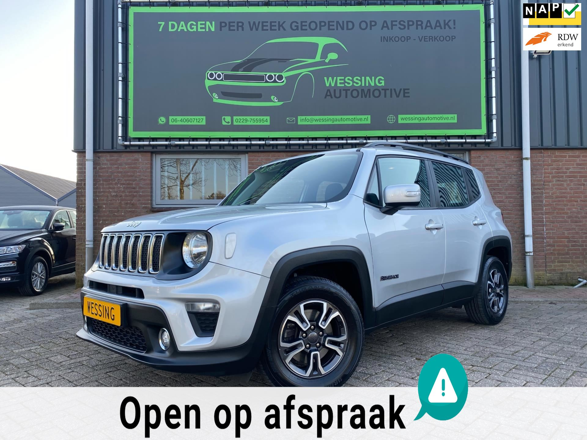 Jeep Renegade occasion - Wessing Automotive