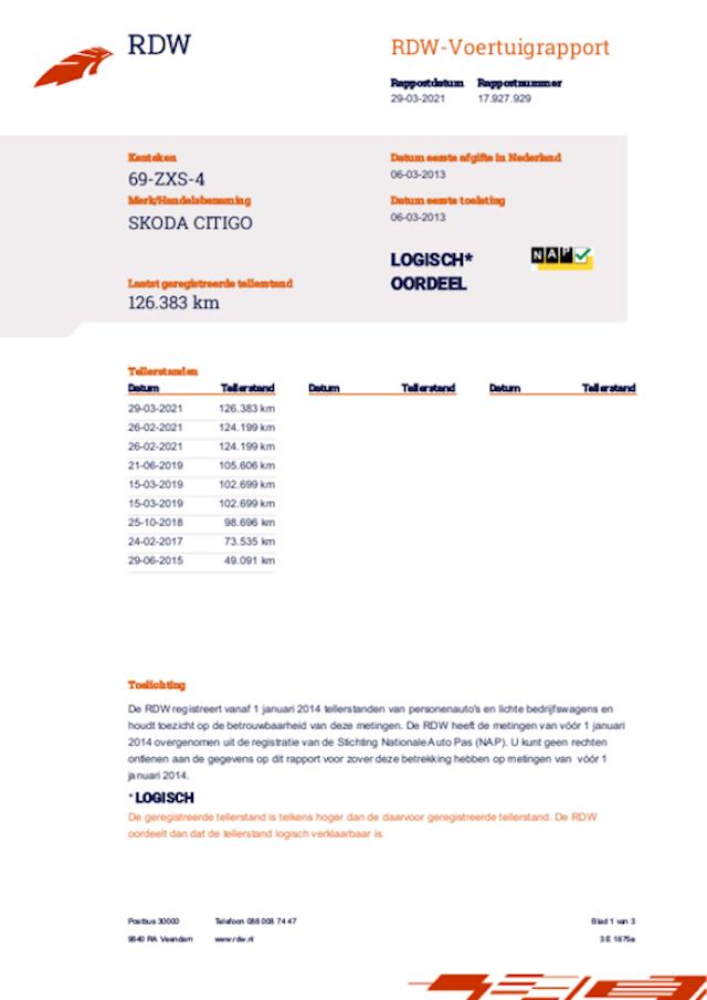 Skoda Citigo 1.0 Greentech Ambition Met Airco