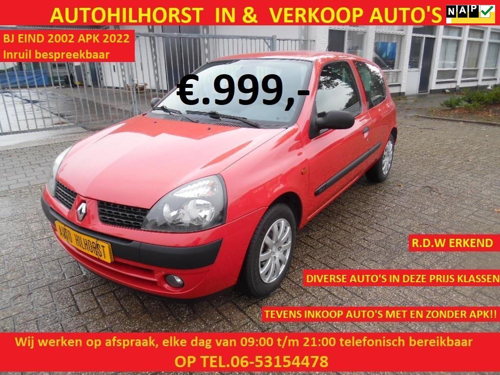 Renault Clio occasion - Auto Hilhorst