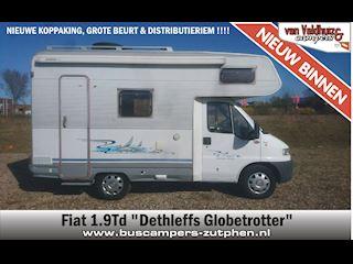 Fiat 1.9 Td Dethleffs Globetrotter occasion - van Veldhuizen Campers - Zutphen