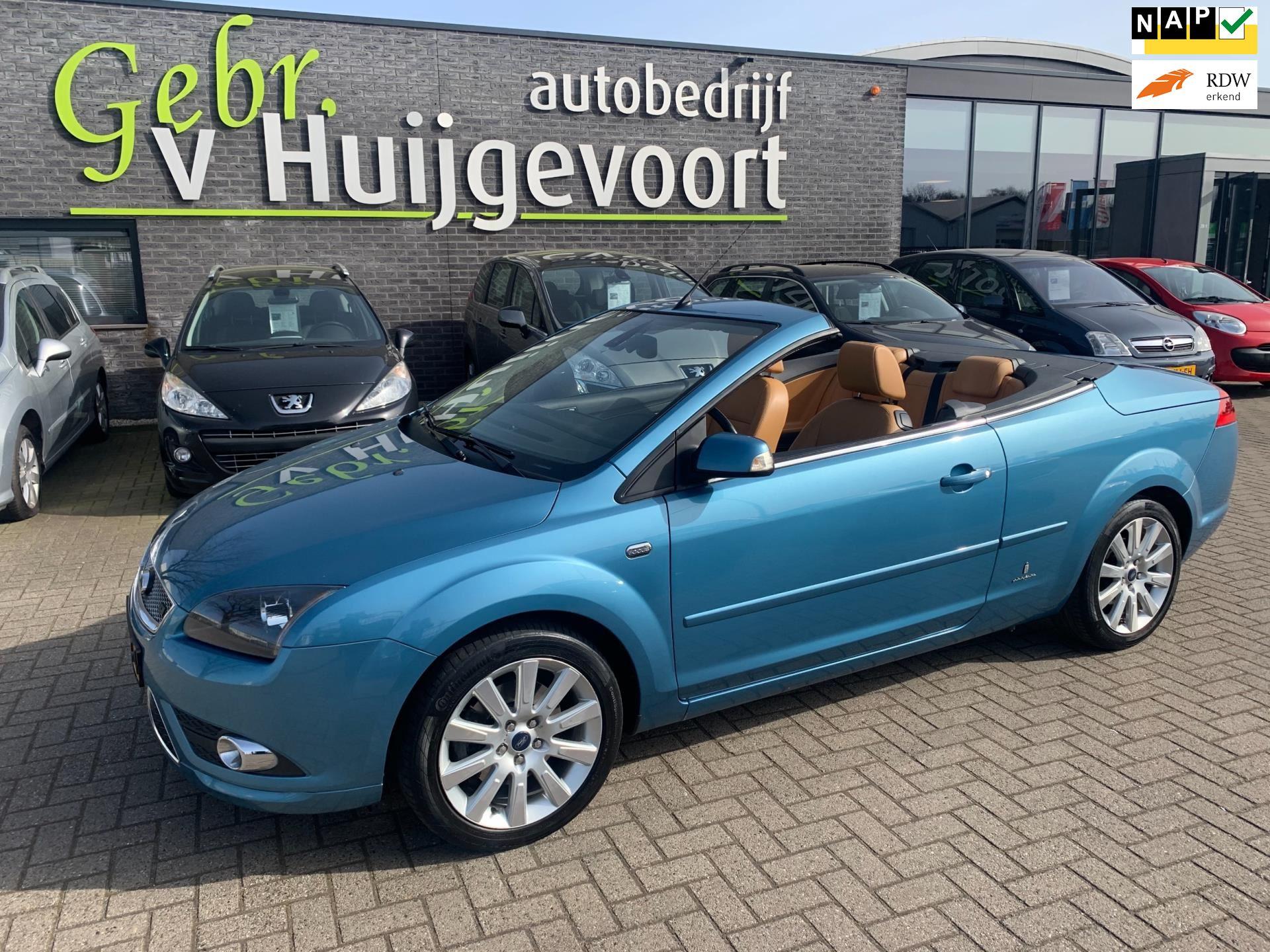 Ford Focus Coupé-Cabriolet occasion - Autobedrijf van Huijgevoort