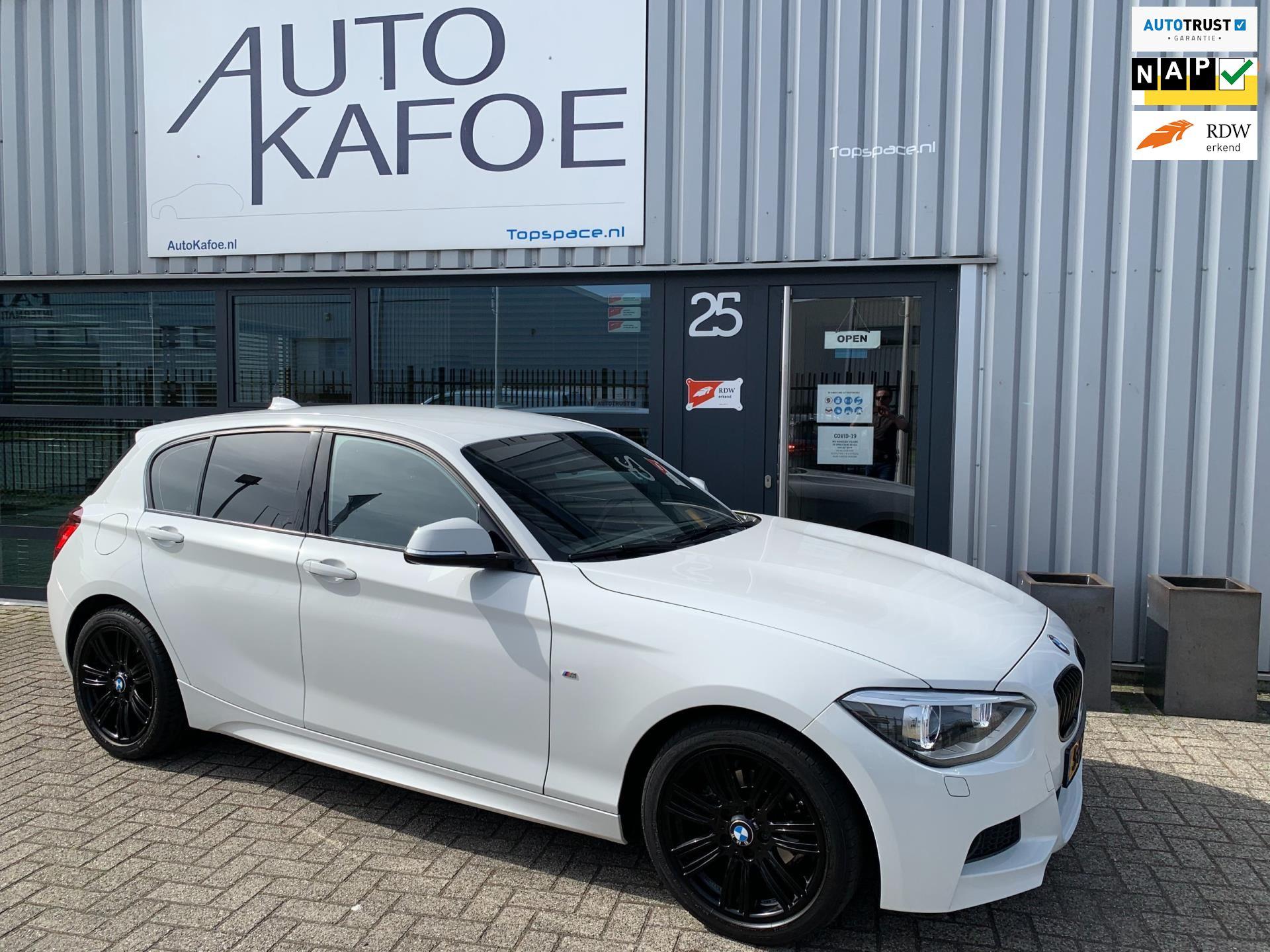 BMW 116i M Sport High Exe Automaat ECC Navi Xenon Cruise 17lmv occasion - AutoKafoe v.o.f.