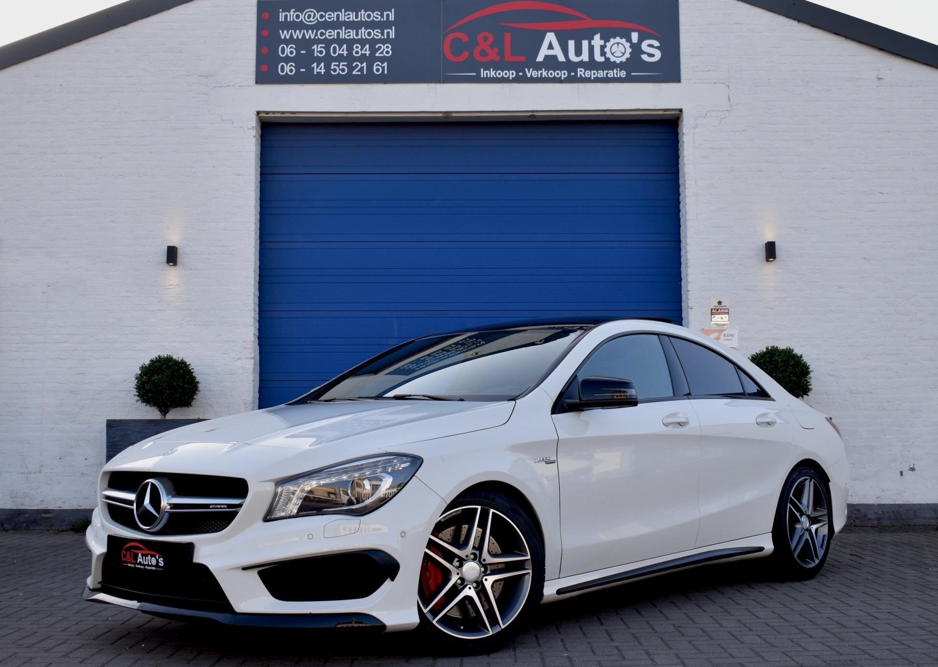 Mercedes-Benz CLA-klasse occasion - C&L Auto's