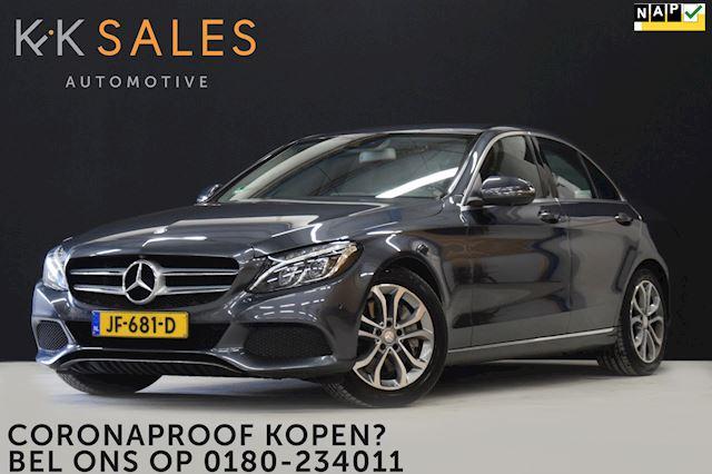Mercedes-Benz C-klasse 350 e Lease Edition EX BTW! [360º CAMERA, BURMESTER, LUCHTVERING, SFEERLICHT, MEMORY, HOUT INTR. NIEUWSTAAT