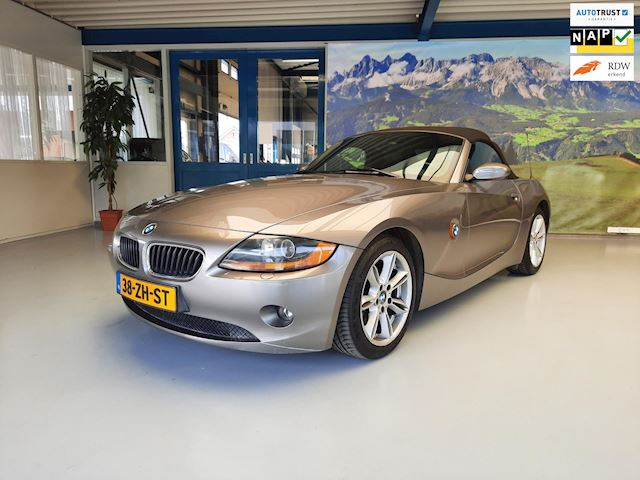 BMW Z4 Roadster 2.5i S in goede staat verkerende BMW Z4 Roadster, Automaat, Navi, elek. Kap, volledige Onderhoudshistorie