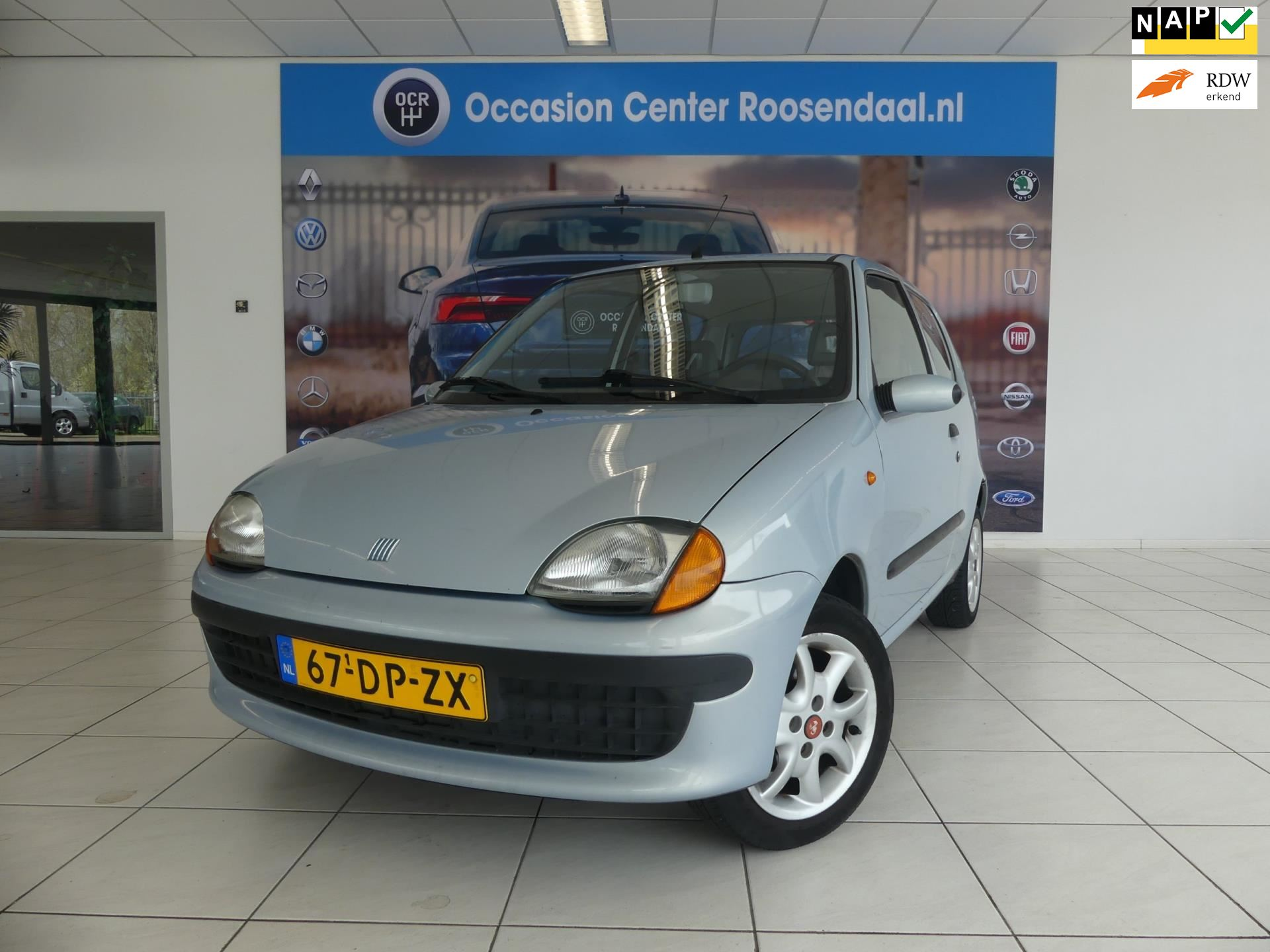 Fiat Seicento occasion - Occasion Center Roosendaal