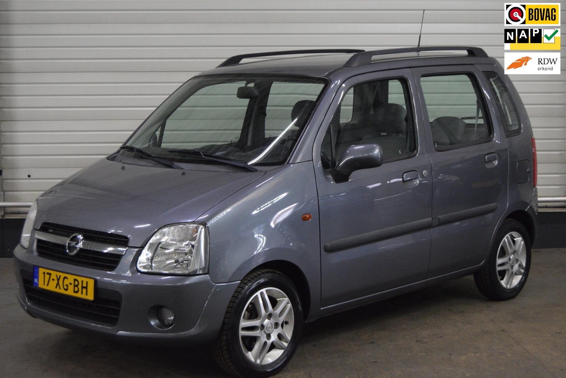 Opel Agila occasion - Autobedrijf van de Werken bv