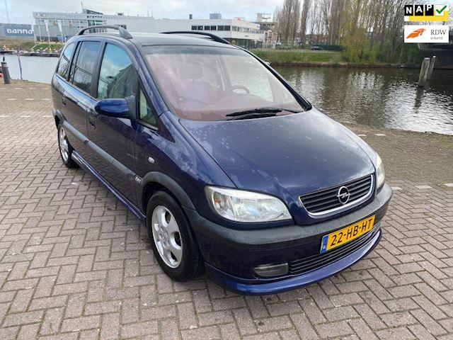 Opel Zafira 2.2-16V Elegance 7 persoons airco elkrt pakket sport uitvoering lm velgen bj 2001 nette auto