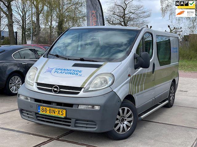 Opel Vivaro 1.9 DI L1 H1 DUBBEL CABINE AIRCO TREKHAAK NAVI
