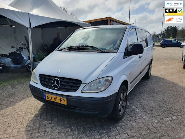 Mercedes-Benz Vito 111 CDI 343 dubbel cabine apk:03-2022
