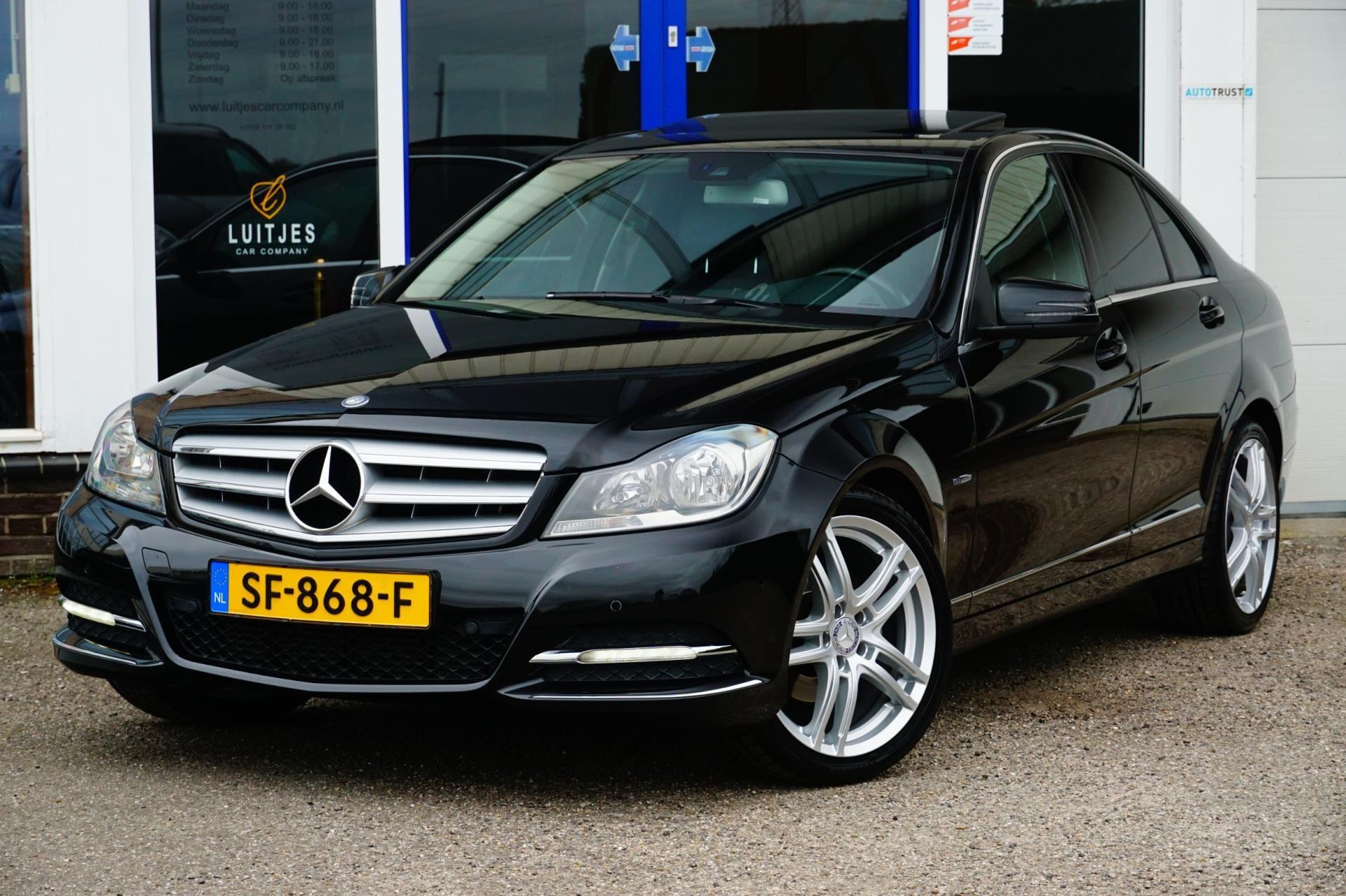 Mercedes-Benz C-klasse occasion - Luitjes Car Company