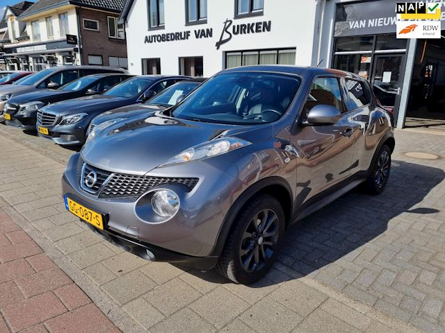 Nissan Juke 1.6 Tekna, Navigatie,Cruise control,Climate control,L.M.Velgen,Trekhaak