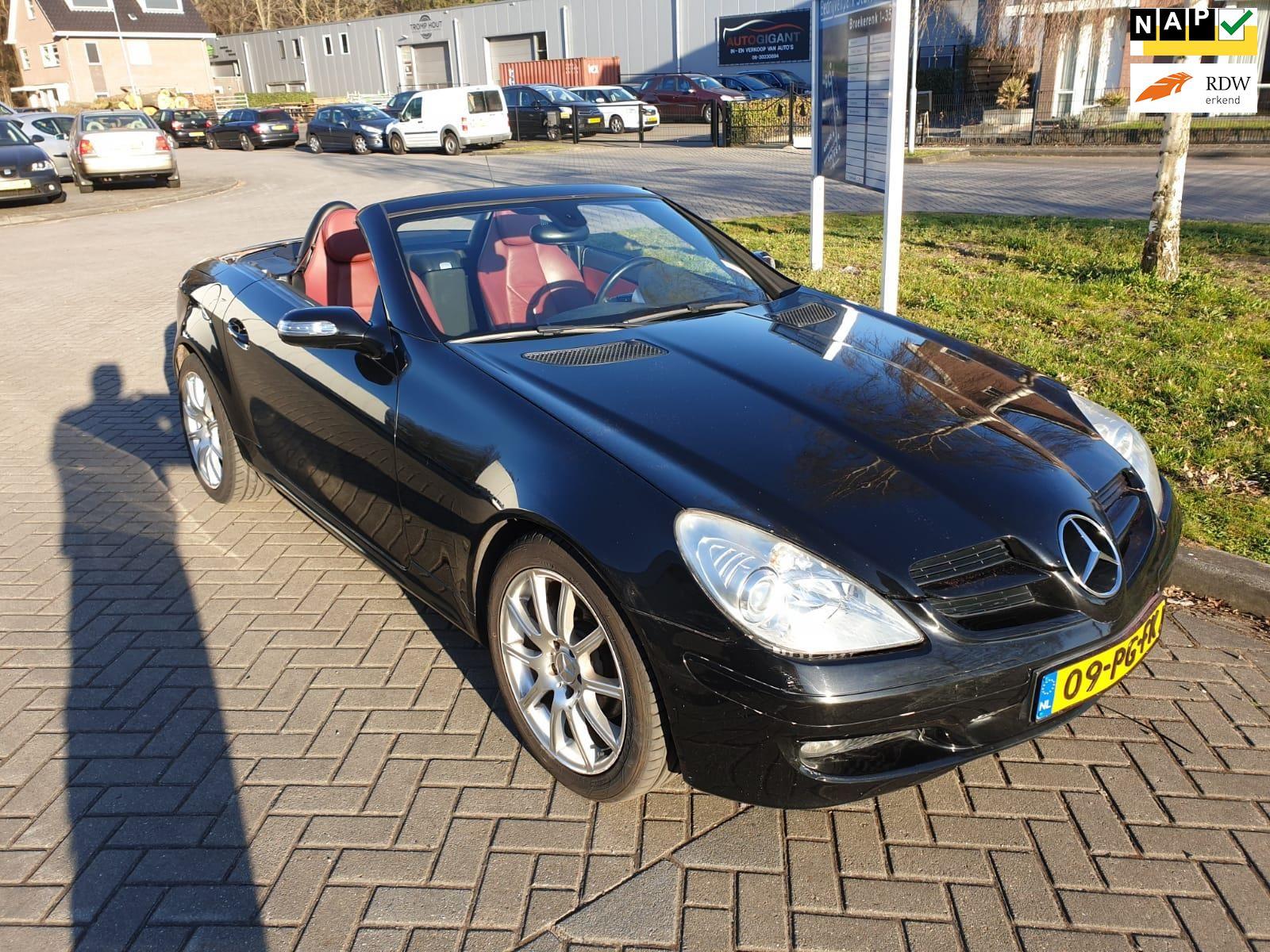 Mercedes-Benz SLK-klasse occasion - v.d. Weg Auto's