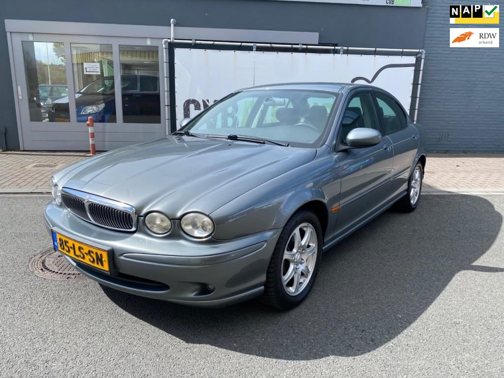 Jaguar X-type occasion - CVB Auto's