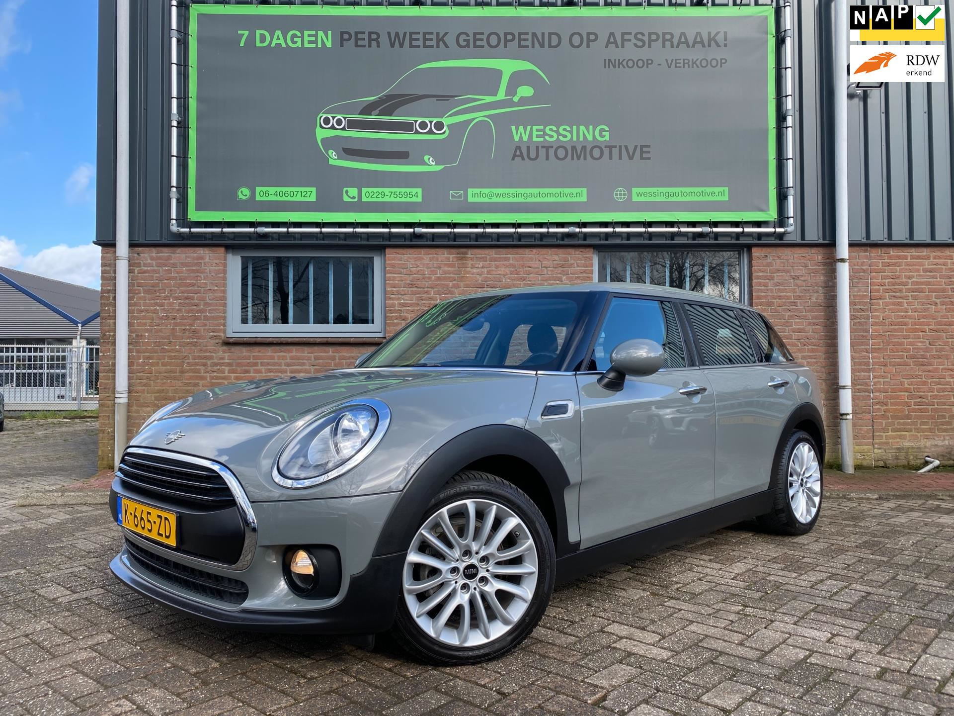 Mini clubman occasion - Wessing Automotive