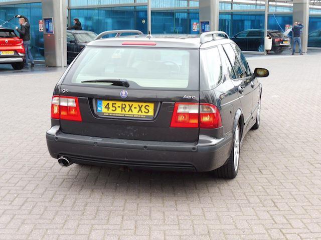 Saab 9-5 Estate 2.3 Turbo Aero/bj2005/automaat/apk nieuw/hagelschade/dak motorkap