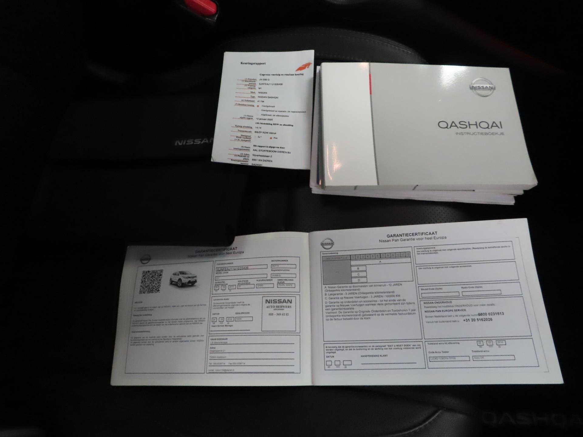 Nissan Qashqai occasion - Garagebedrijf P. Glas 't Zand