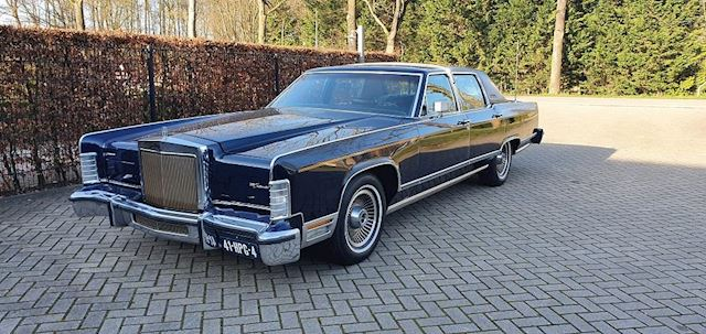 Lincoln CONTINENTAL Collector Serie, s  1979