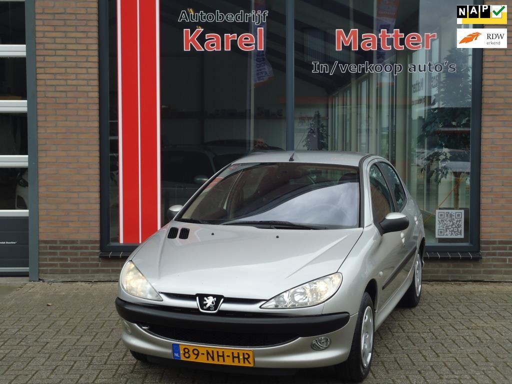 Peugeot 206 occasion - Autobedrijf Karel Matter