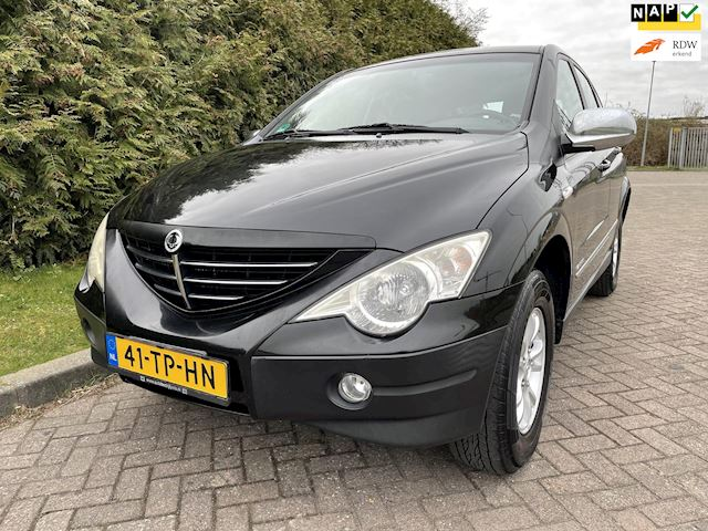 SsangYong Actyon A 230 4WD,Automaat,4X4,DVD,Airco,Cruise,Trekhaak,Parkeersensor,150pk,Nieuwe Apk