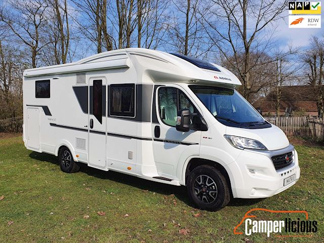 Adria Matrix 670 DC Plus met Queensbed en Hefbed. occasion - Camperlicious