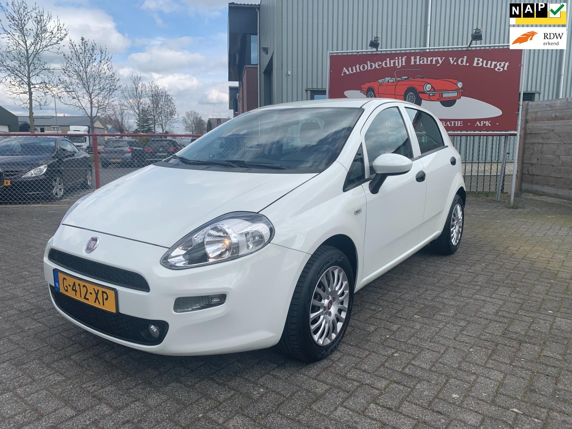 Fiat Punto Evo occasion - Autobedrijf Harry van der Burgt