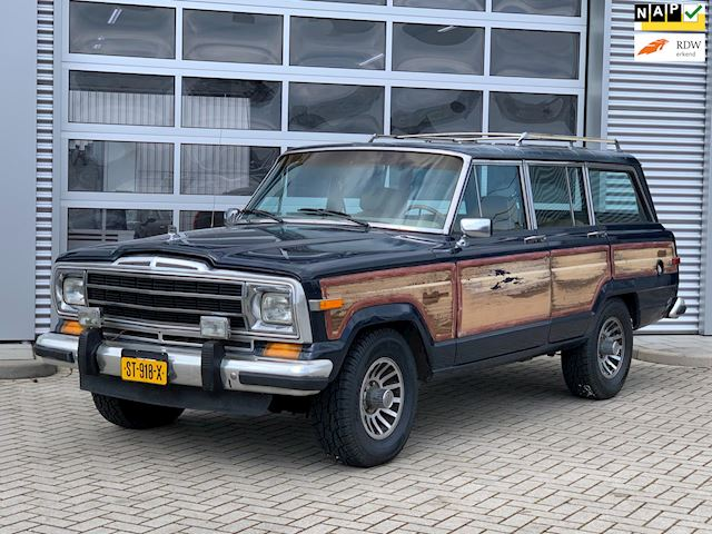 Jeep WAGONEER 5.9 V8 Limited Wagon bj.1987 Woody|Apk.3-2023.