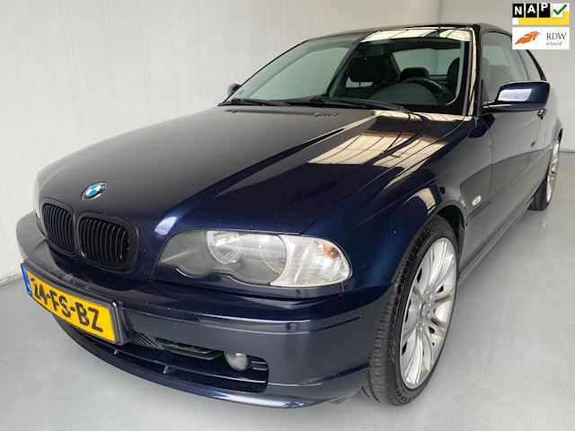 BMW 3-serie Coupé 318Ci Executive Climate+Cruise control 18' velgen