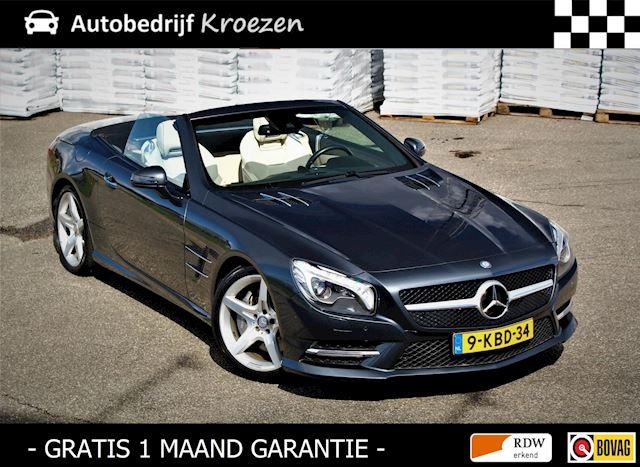 Mercedes-Benz SL-klasse 350 ///AMG Pakket * Org NL Auto * Dealer Onderhouden * H&K * Camera *