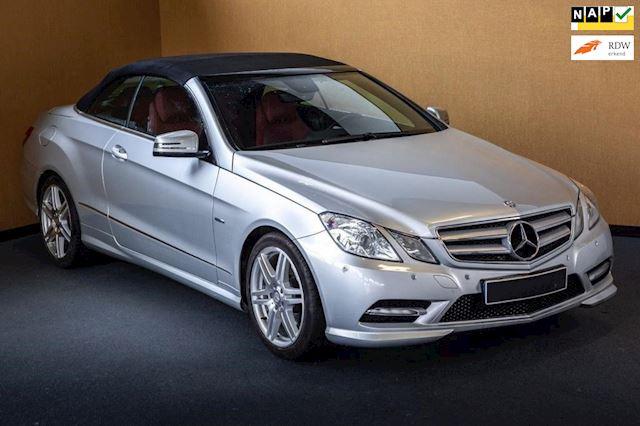 Mercedes-Benz E-klasse Cabrio 200 CGI Avantgarde Aut, Navi, Leder, Xenon