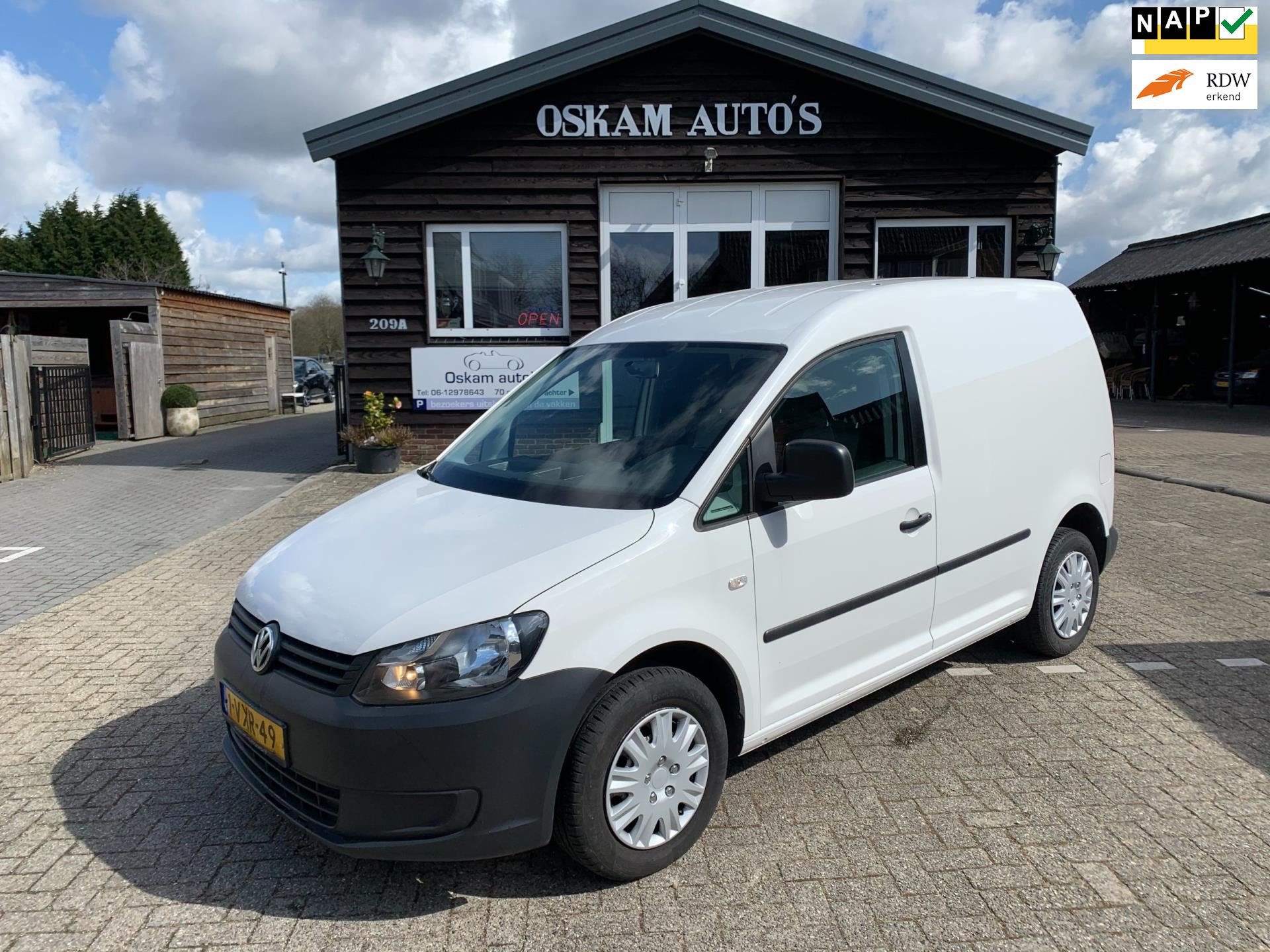 Volkswagen Caddy occasion - Oskam Auto's