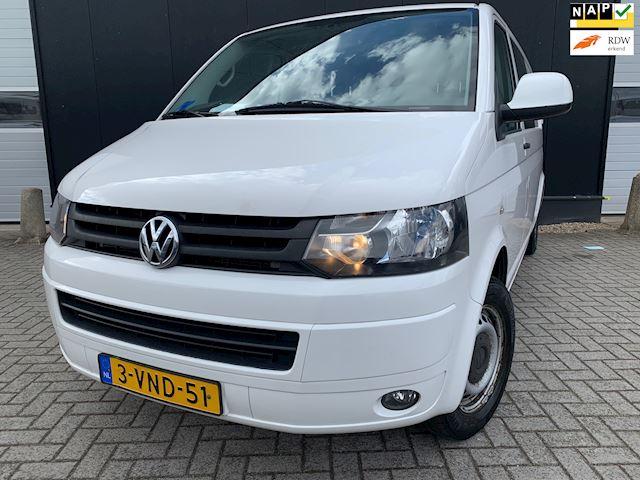 Volkswagen Transporter 2.0 TDI L2H1 Dub Cabine '11 Airco/Navi/Apk3-'22