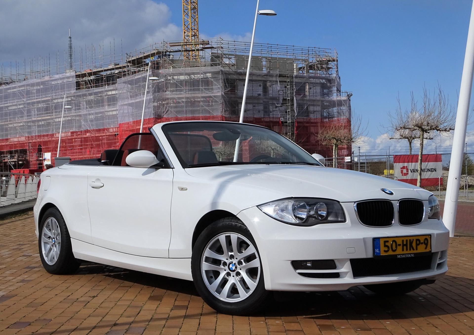 BMW 1-serie Cabrio occasion - MCS Auto's
