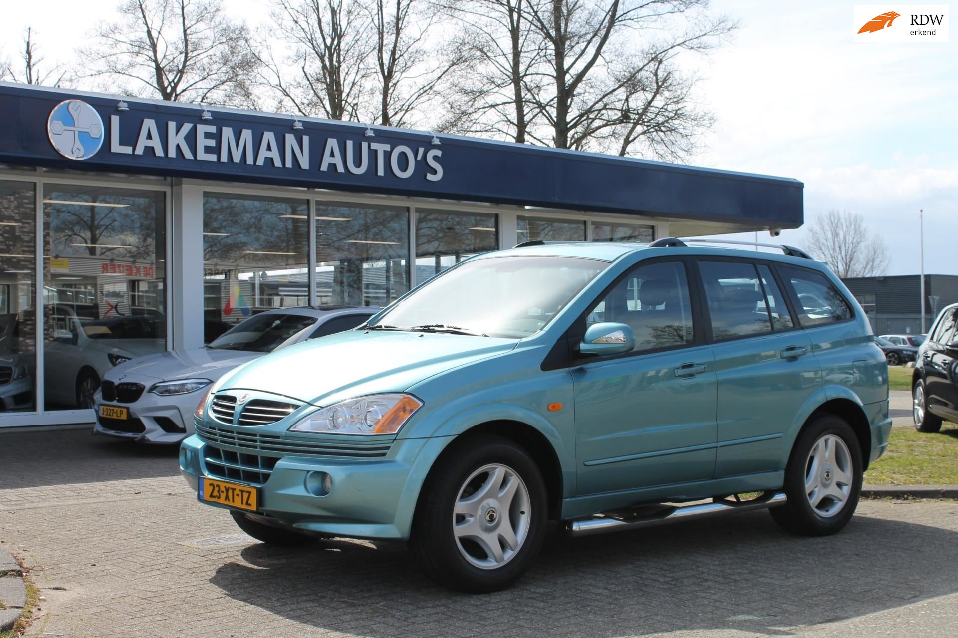 SsangYong Kyron occasion - Lakeman auto's Almere B.V.