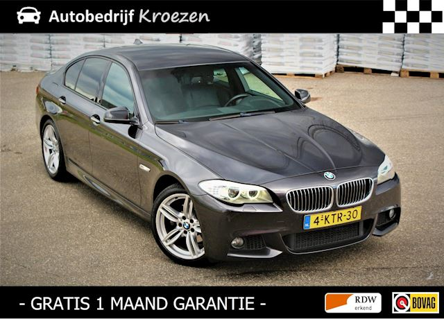 BMW 5-serie 520i M-Pakket * Virtual cockpit * Leder * Org NL Auto *